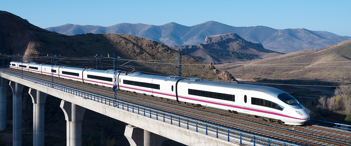 Spanish high speed train (AVE)